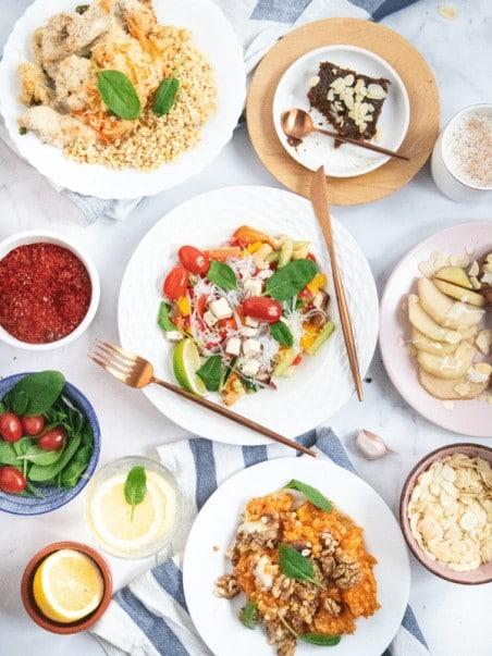 Przykłady dań z cateringu dietetycznego Codziennie FIT
