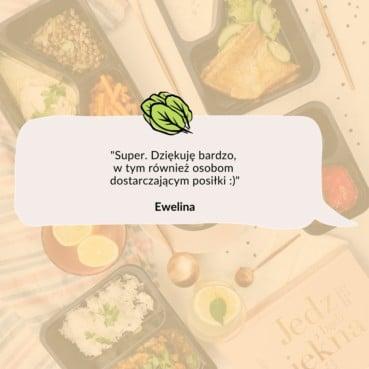 Opinia Eweliny o cateringu dietetycznym Codziennie FIT