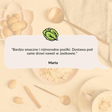 Opinia Marty z Jastkowa o cateringu dietetycznym Codziennie FIT
