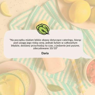 Opinia Darii o cateringu dietetycznym Codziennie FIT