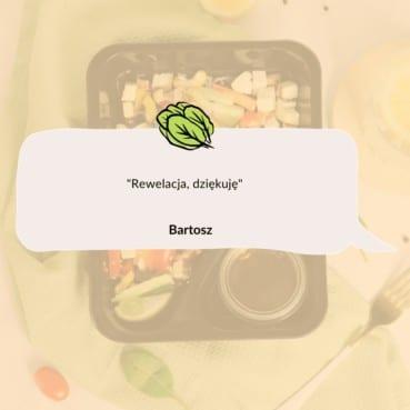 Opinia Bartosza o cateringu dietetycznym Codziennie FIT