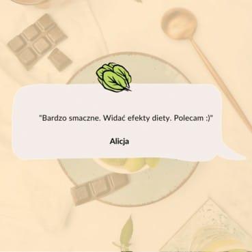 Opinia Alicji o cateringu dietetycznym Codziennie FIT