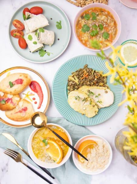 Catering dietetyczny Codziennie FIT - zestaw posiłków
