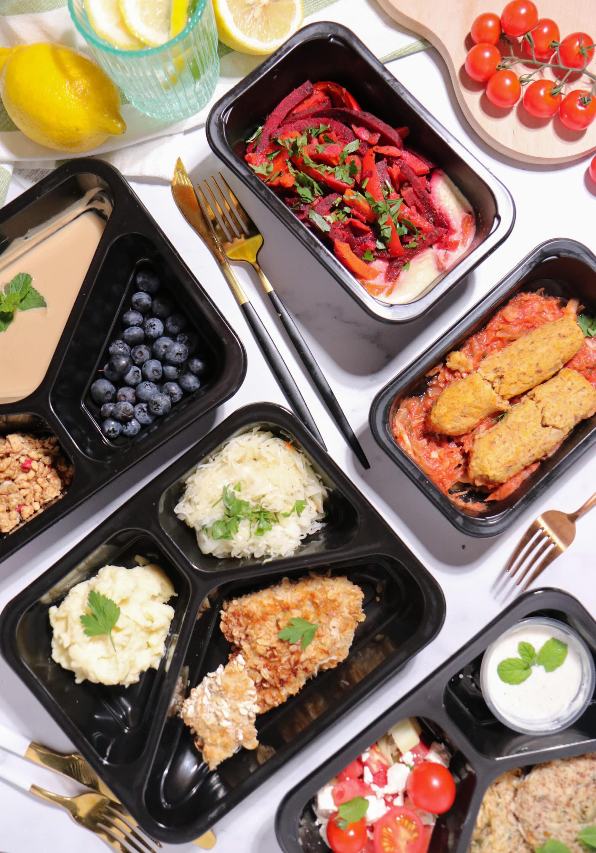 Deser z cateringu dietetycznego Codziennie FIT